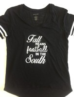 Fall Football T-shrit